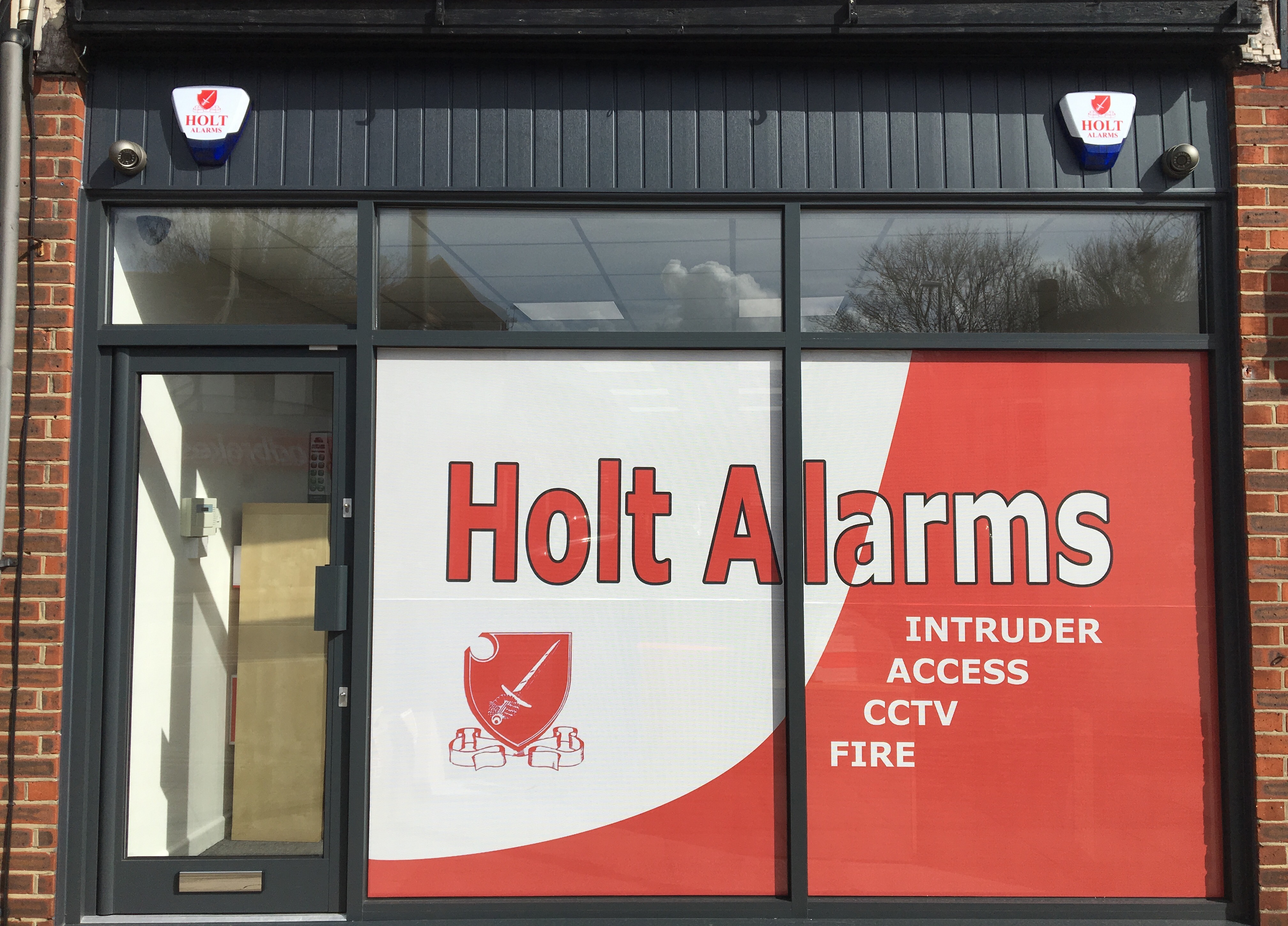 Holt Alarms Office Front