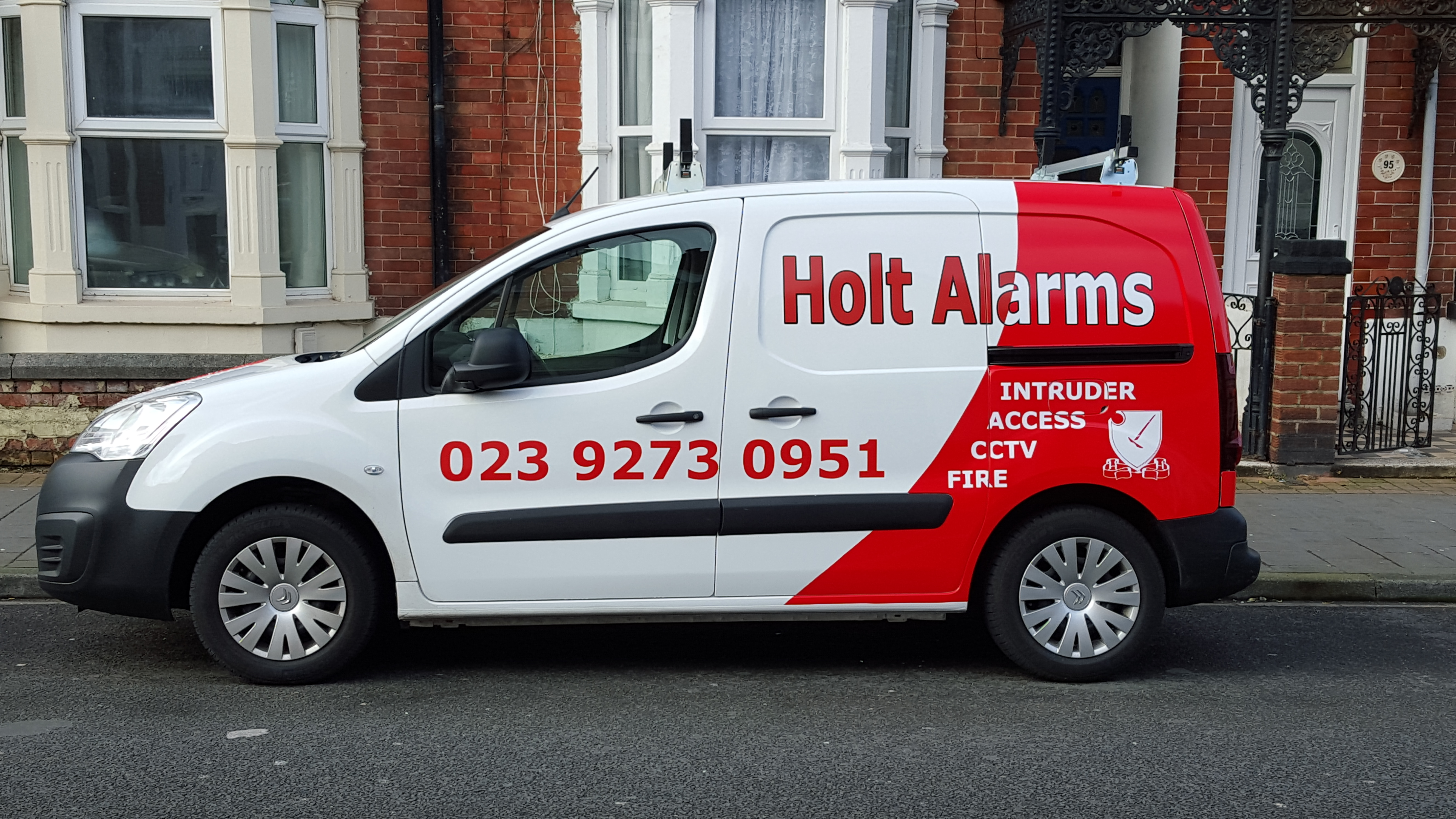 Holt Alarms Van
